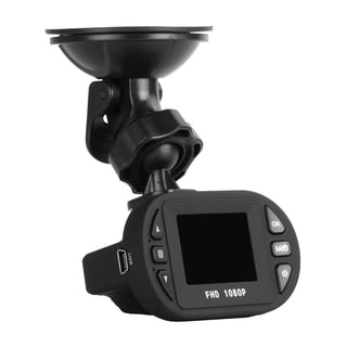 Car Camera with Night Vision, Digital HD DVR/ MicroSD Card, and Windshield Mount