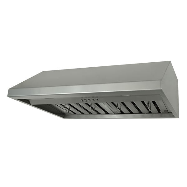 Commercial Grade Stainless Steel : ... 680 CFM Under Cabinet Range Hood in Commercial Grade Stainless Steel