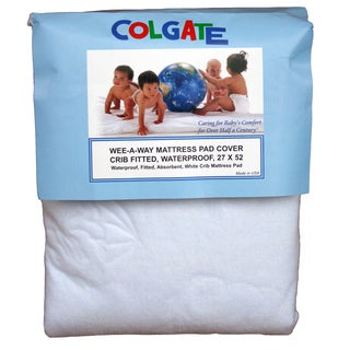 Colgate Crib Fitted Waterproof Mattress Cover