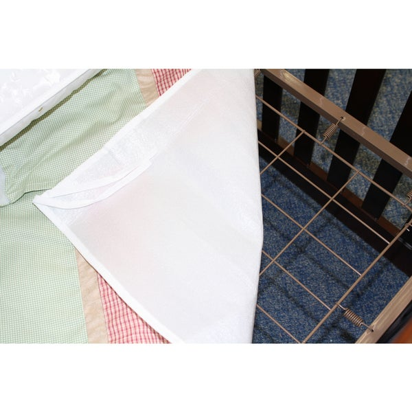 Colgate Crib Mattress & Dust Ruffle Protector