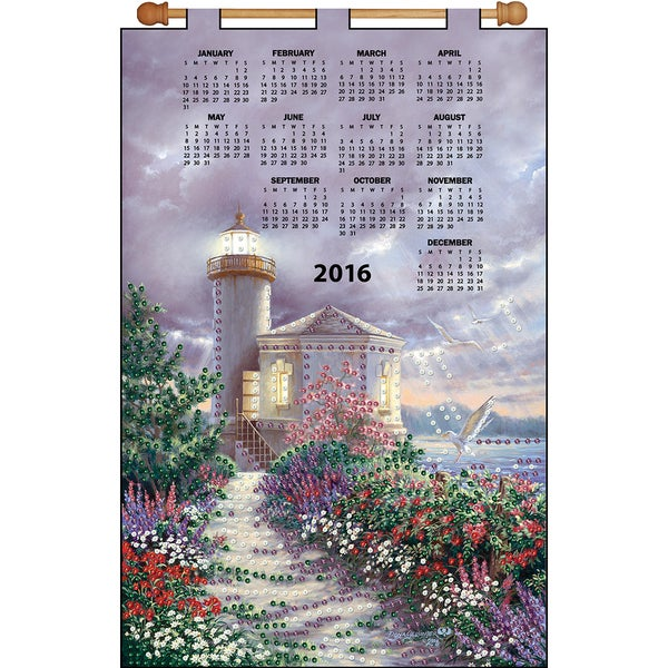 Beacon Of Majesty 2016 Calendar Felt Applique Kit16inX24in