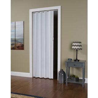 """Via White 24""""-36"""" x 80"""" Folding Door"""