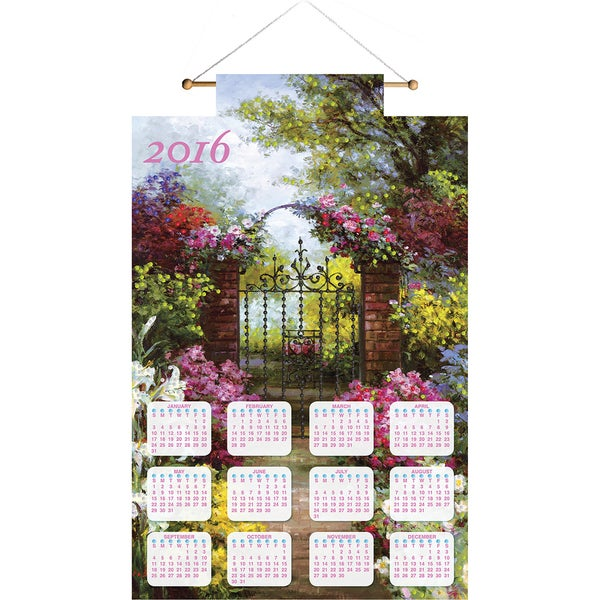 Gateway Solitude 2016 Calendar Felt Applique Kit16inX24in