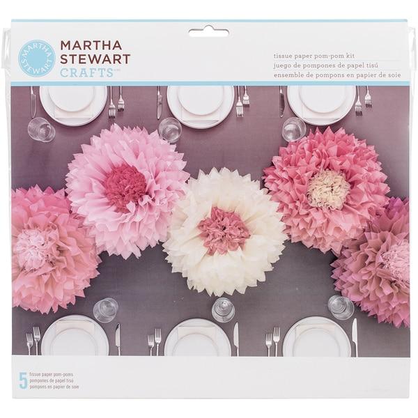 Tissue Paper PomPom Kit Chrysanth Flowers