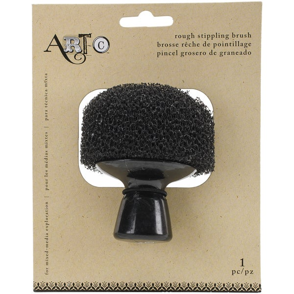 Large Rough Stippling Brush