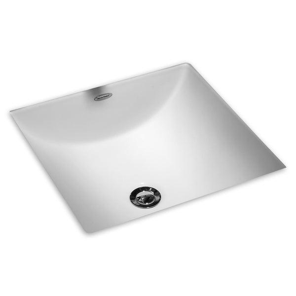 Porcelain Undermount Sink : ... White Vitreous Porcelain Undermount Bathroom Sink (16 x 11 inches