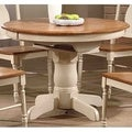 Iconic Furniture Caramel/ Biscotti Round Dining Table