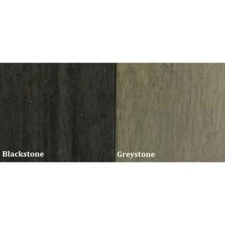 Iconic Furniture Grey Stone/ Black Stone Round Dining Table