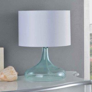 Creek Classics Blue Glass 16.5-inch Table Lamp