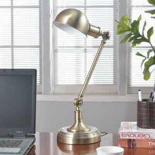 Creek Classics Adjustable Metal 22-inch Table Lamp