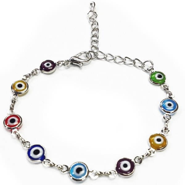 Crystal Florida CF76882505 Evil Eye Bracelet