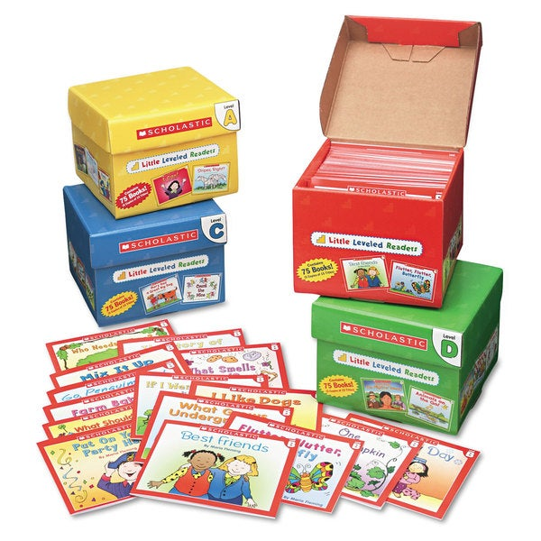 Scholastic Res. Pre K-2 Little Leveled Readers Set (Pack of 75)