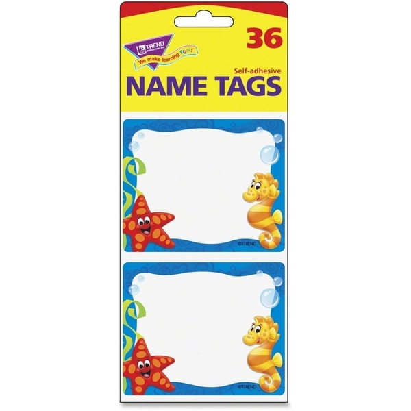 Trend Sea Buddies Collection Terrific Labels (Pack of 36)