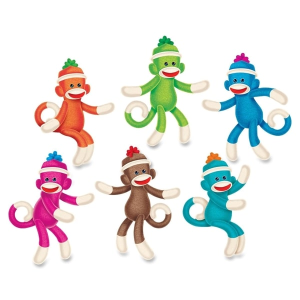 Trend Sock Monkey Solids Classic Accents 36 Pieces Multi (Pack of 36)