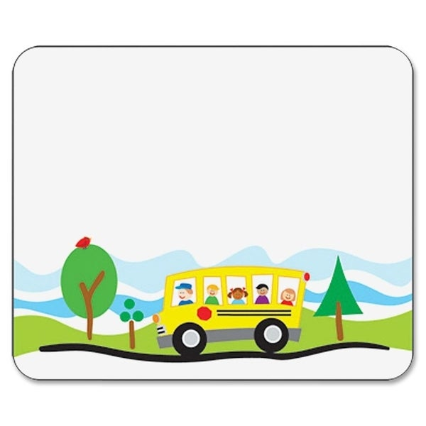 Carson-Dellosa Self-Adhesive School Bus Name Tag (Pack of 40)