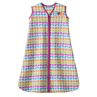 HALO SleepSack 100-percent Cotton Pink Striped Icon Wearable Blanket