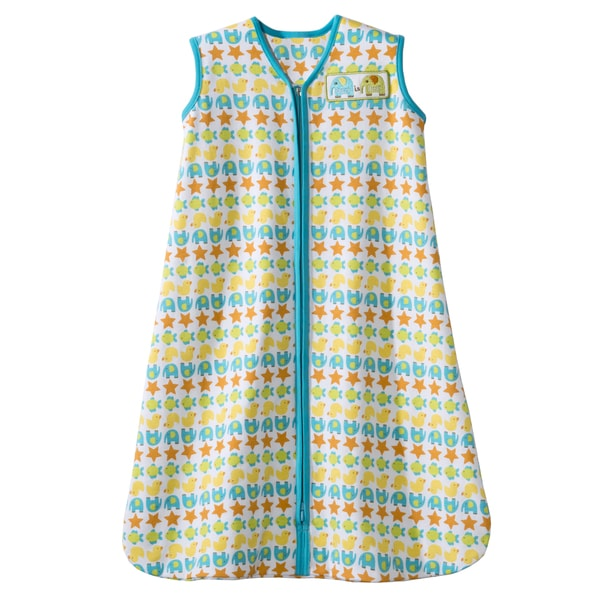 HALO SleepSack 100-percent Turquoise Striped Animal Wearable Blanket