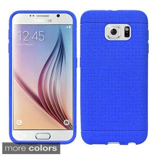 Insten Rugged Silicone Gel Rubber Phone Case for Samsung Galaxy S6