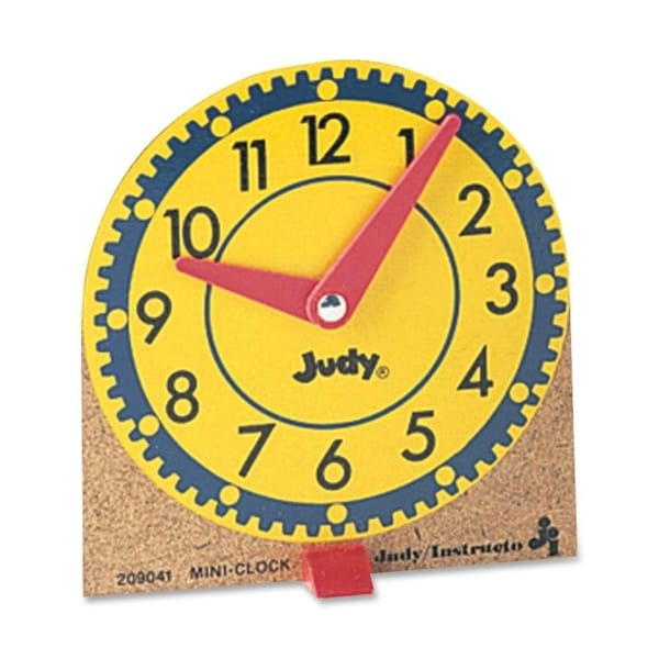 Carson-Dellosa Mini Judy Clock (Pack of 12)