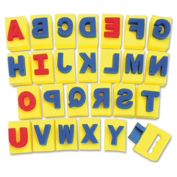 ChenilleKraft Sponge A-Z Letters