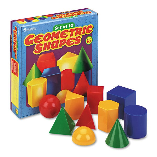 Learning Resources Geometry Shape (Pack of 10)