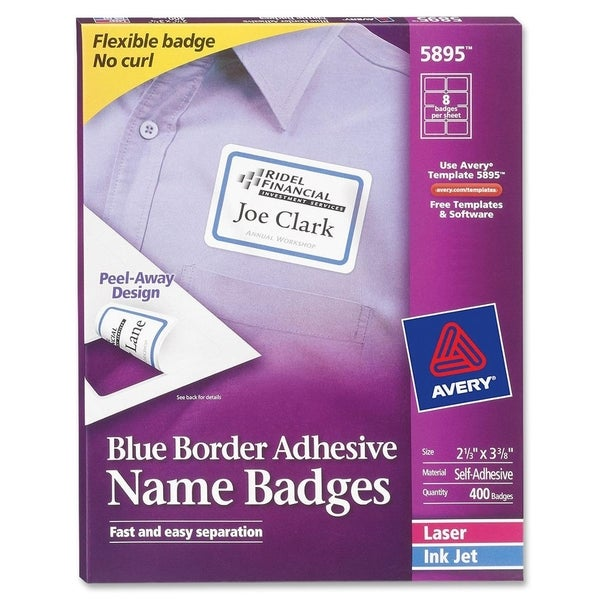 Avery Name Badge Label (Box of 400)