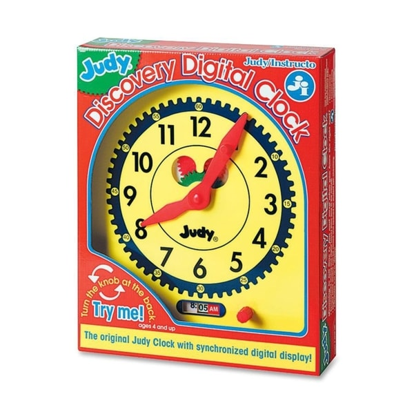 Judy Instructo Judy Digital Clock Clock