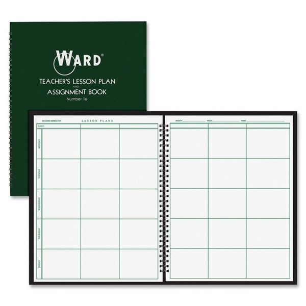 Ward Teacher's 6-period Lesson Plan Book