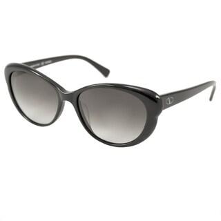 Valentino Women's V635S Black/ Grey Gradient Cat-Eye Sunglasses