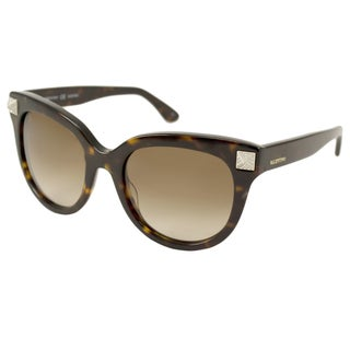 Valentino Women's V658SR Rectangular Sunglasses