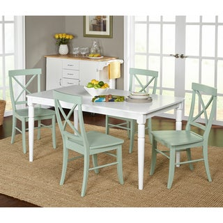 Simple Living 5-piece Albury Cross Back Dining Set