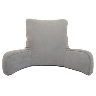 Suede Solid Color Oversized Bedrest Lounger