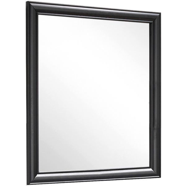 CorLiving BLH-190-M Clear Lake Honey Black Mirror