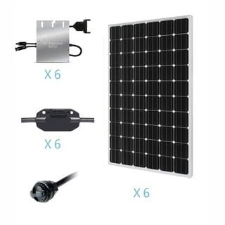 Renogy 1.5KW Grid-Tied Basic Solar Kit