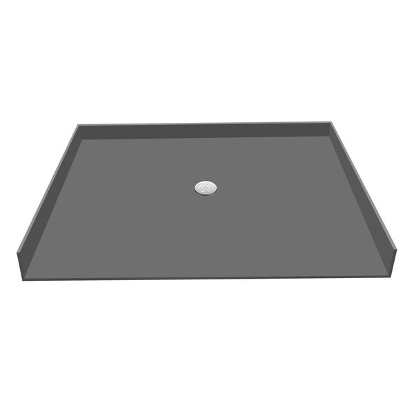 Redi Base 33 x 63 Barrier Free Shower Pan With Center Drain