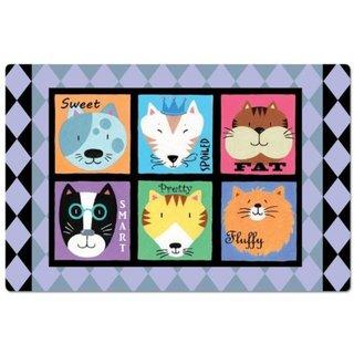 Cat Personalities Pet Mat