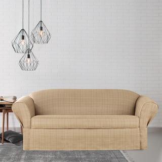 Sure Fit Avenue Separate Seat 2-piece Petite Sofa Slipcover