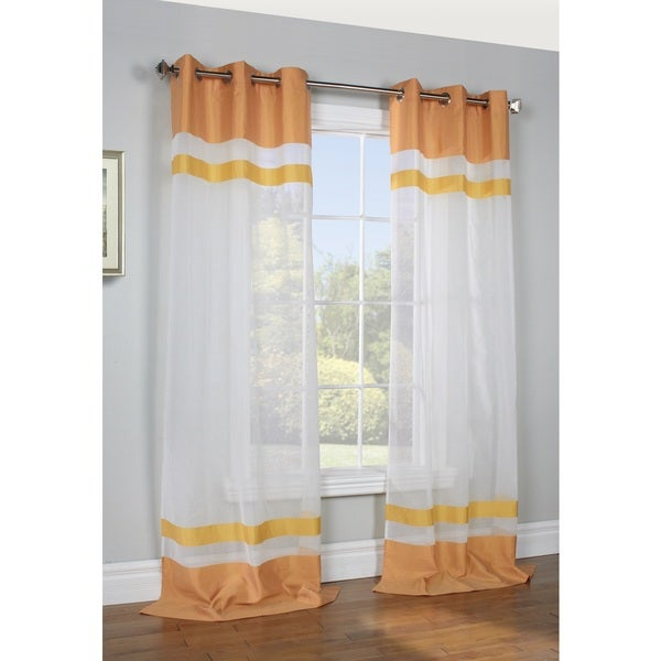 Kaleidoscope Semi Sheer Panel