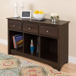 Ellsworth Espresso Living Room Console