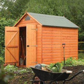 English Garden 8' x 6' Wood Storage Shed