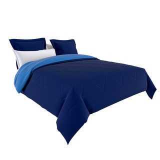 Reversible Down Alternative Comforter and Shams 3-piece Set