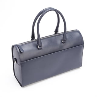 Royce Leather RFID Blocking Saffiano Leather Carry-on Travel Duffle