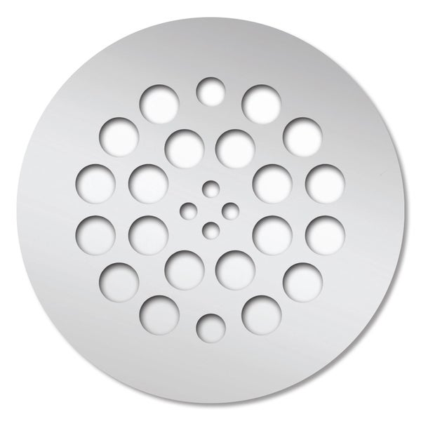Redi Drain 4.25 x 4.25 Polished Chrome Round Drain Plate