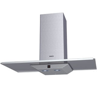 "Bosch 36"" Stainless Steel Wall Mount Hood with 600 CFM Blower"