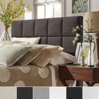 INSPIRE Q Fenton Panel King-sized Upholstered Headboard