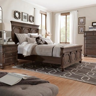 Cristoph Warm Brown 5-piece Bedroom Set