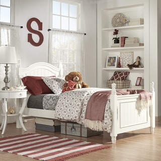 Juliet White Twin-size Platform Bed