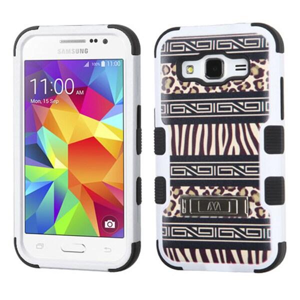 Insten Tuff Hard PC/ Silicone Dual Layer Hybrid Phone Case Cover For Samsung Galaxy Core Prime