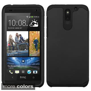 Insten Hard PC/ Silicone Dual Layer Hybrid Rubberized Matte Phone Case Cover For HTC Desire 610