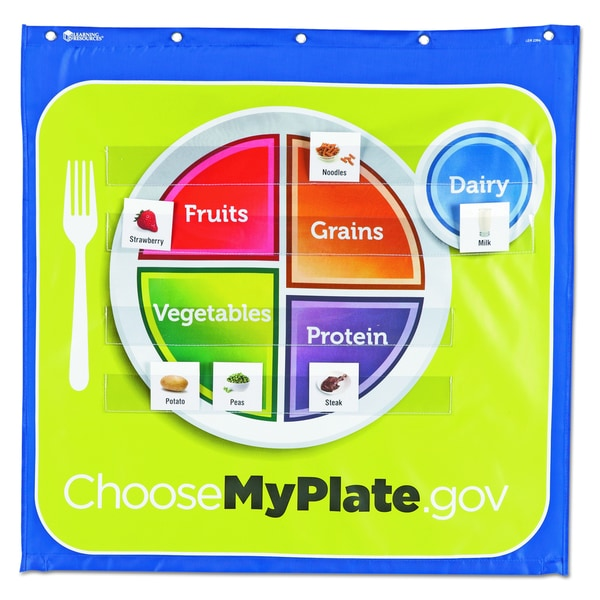 Healthy Helpings Educational Pocket Chart - 1/EA